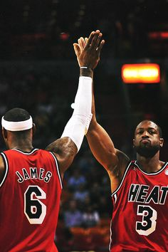LeBron James, Dwyane Wade = Best Ever
