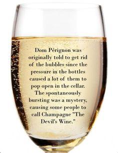 Fizzy fun fact! #champagne #wine {wine glass writer}
