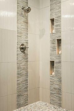 Best Of Modern Shower Tile Design . Bathroom Shower Designs Hgtv with Image Modern Bathroom Bathroom Tile Designs, Shower Designs, Bathroom Ideas, Bathroom Showers, Bathroom Remodeling, Tiled Showers, Bathroom Colors, Mosaic Bathroom, Bath Tiles