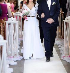 Suknie - Suknia ślubna kupiona w salonie - 2 000,00zł