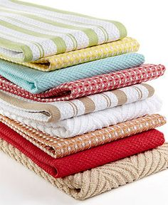 Martha Stewart Collection Kitchen Textiles - Kitchen Towels & Accessories - for the home - Macy's