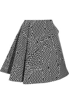 KENZO | Printed wool-blend skirt | NET-A-PORTER.COM