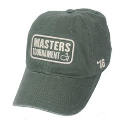 a6b27032 2016-Masters-Golf-Green-Vintage-Caddy-Hat-with-Date-on-Side-NEW -and-Ships-FAST
