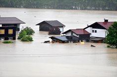 Hochwasser in Kössen (c) TT