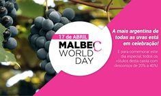 Malbec World Day http://www.buywine.com.br/