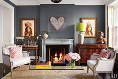 BM chelsea gray, luv the dark walls