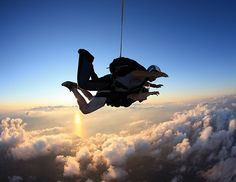 To go sky diving in a Tandem Jump!!! Not as expensive as I thought, so there is really no reason why I shouldn't go! I'll take Tremaine and the Sexy Six!