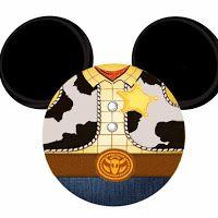 Im�genes de cabezas de Mickey a lo Toy Story.