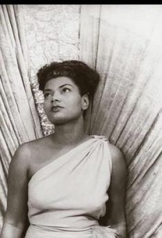 Pearl Bailey. So beautiful and classic.