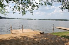A Waterfront View like this :)  849 Castleberry Ct Woodlake CC Vass NC $399,900  4BR/2.5BA   http://athompson.kwrealty.com/