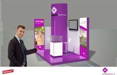 Diseño de stand para farmacéutica
