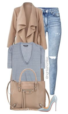 """""""Everyday Style"""" by highfashionfiles ❤ liked on Polyvore featuring H&M, Isabel Marant, Balenciaga and Christian Louboutin"""