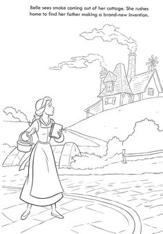 Colouring Pages, Beauty And The Beast, Fun Activities, Color, Art, Quote Coloring Pages, Art Background, Coloring Pages, Colour