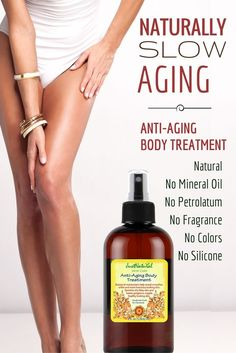 With age, the body begins to expose sagging skin, wrinkles, cellulite, and pigmentation. Most of the anti-aging products are only focused on protecting and healing facial skin. The rest of your body ages at the same rate but only receives a fraction of the care. The upper arms, neck, derriere, abdomen, legs, buttocks and back all require equal care to fight the effects of aging and retain the youthful glow and firm feel of your skin....More at…