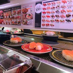 Hoy toca sushi #sushi  #kaitensushi  #ShortyEnJapon  #vidaenjapon