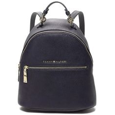 Tommy Hilfiger Mini Backpack (376495 PYG) ❤ liked on Polyvore featuring bags, backpacks, mini rucksack, knapsack bag, day pack backpack, fake bags and tommy hilfiger backpack