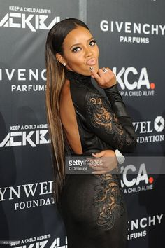 Designer Angela Simmons attends Keep A Child Alive's 11th annual Black Ball at Hammerstein Ballroom on October 30, 2014 in New York City.