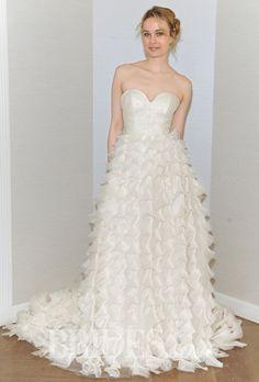 Cocoe Voci Wedding Dresses Spring 2015 Bridal Runway Shows Brides.com   Wedding Dresses Style   Brides.com