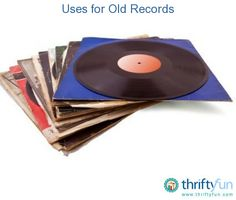 This is a guide about uses for old records. Some old records have value, but some are either too scratched or too common to be collectible.  There are ways to reuse old records to make them into something new and wonderful.
