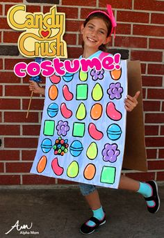 Candy Crush Halloween Costume at Alphamom.com