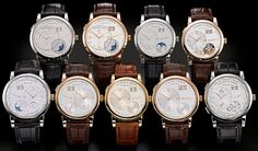 All the A. Lange & Sohne Lange 1 watches.  These haven't grown on me yet, but maybe one day...