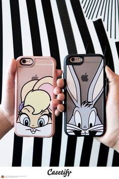 For you and your sweetheart. Tap link here http://www.casetify.com/collections/looney_tunes#/ to shop #CASETIFYXLOONEYTUNES. Pinterest: ♚ @RoyaltyCalme †