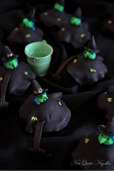 Witch Cupcakes |  #cupcakes #Witch