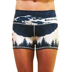 Colorado Native Yoga Shorts - I WANT!!!!