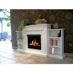 Fireplace - Luxor Natur / Use with Bio-Ethanol and Fire Gel ...
