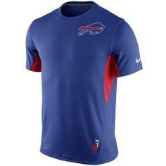 Men's Buffalo Bills Nike Royal Blue Vapor Performance T-Shirt