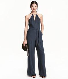 Jumpsuit   Mörkblå   Ladies   H&M SE
