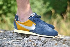 Nike Pre Montreal – Blue / Gold