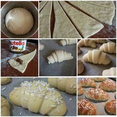 dolce impasto brioche ripieno nutella Brioche Nutella, Italian Anise Cookies, Best Banana Bread, Snacks, Bread Baking, Italian Recipes, Buffet, Food And Drink, Sweets