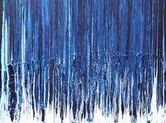 Indigo Soul Painting  - Indigo Soul Fine Art Print