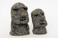 Create these mini clay statues while learning about the mysterious moai statues of Easter Island. Fun Crafts For Kids, Craft Stick Crafts, Craft Ideas, Sand Dough, Easter Island Statues, Salt Dough Crafts, Summer Camp Activities, Black Acrylic Paint, Dark Shades