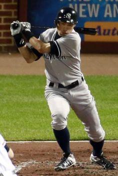 2012.09.06 3回、中前打を放つヤンキースのイチロー