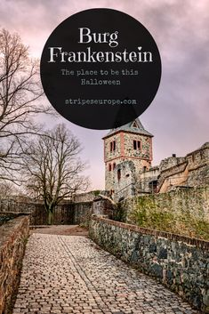 Burg Frankenstein: The place to be during October Halloween Bucket List, Moving To Germany, Germany Travel, European Destination, European Travel, Travel Around The World, Around The Worlds, Germany Castles, Samhain