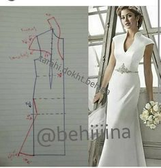 Couture Sewing Vestido Formal Clothing Patterns Dress Patterns Sewing Patterns Techniques Couture Sewing Techniques Make Your Own Dress Panel Dress Sewing Dress, Dress Sewing Patterns, Sewing Clothes, Clothing Patterns, Blouse Patterns, Diy Clothes, Blouse Designs, Fashion Sewing, Diy Fashion