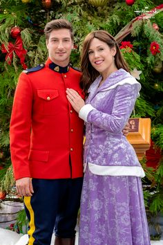 """Check out photos of Jack and Elizabeth from the Hallmark Channel original series """"When Calls the Heart. Elizabeth Thatcher, Erin Elizabeth, Jack And Elizabeth, Pascale Hutton, Love Comes Softly, Family Christmas Movies, Hallmark Christmas, Jack Wagner, Jack Thornton"""