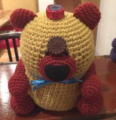 eco bear and chocolate. I want to eat the next with you. #Japan #Japanese #amigurumi #bear #ecology #ecobear #chocolate #日本#編みぐるみ#クマ#エコベア#エコロジー #チョコレート#次はあなたと食べたいな by ecobear23