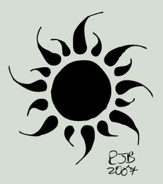 the sun i want for my tattoo..