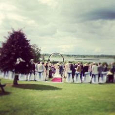 Weddings on the Lawn overlooking Lough Ennell!