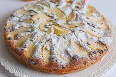 Torta soffice alle mele e gocce di cioccolato fondente