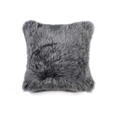 Look at this Gray New Zealand Sheepskin Throw Pillow - Set of Two Grey Throw Pillows, Throw Pillow Sets, Wool Pillows, Pillow Covers, Accent Pillows, Decor Pillows, Decorative Pillows, Sheepskin Throw, Grey Home Decor