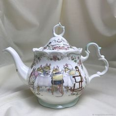 Pottery & Glass Honesty Paul Cardew Design Signed Limited Edition Collectable Teapot Tea Shop Counter Pottery & China