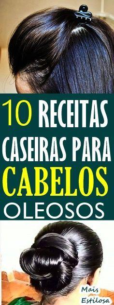 10 RECEITAS CASEIRAS PARA CABELOS OLEOSOS Há várias formas de tratar o problema e controlar essa oleosidade e nós vamos te ajudar com essas receitas simples que irão mudar a for