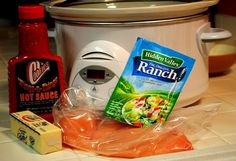 Buffalo Chicken Wraps (Crock Pot Recipe!)