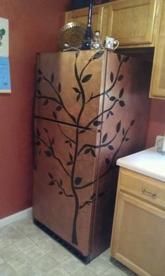 fridge tree | DIY for Life