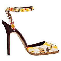 Manolo Blahnik sandalo fiori
