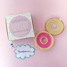 Happy National Donut Day! Today is the grand opening of Glamour Dolls Bakery! Here is your first look at what's on the menu... donut LIP GLOSS. Head over to GlamourDollsMakeup.Com for these vegan and gluten free glossy treats!